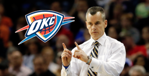OKC Thunder Head Coach Billy Donovan