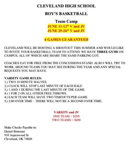 Cleveland Team Camp